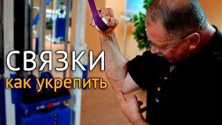 Как укрепить связки локтя после травм