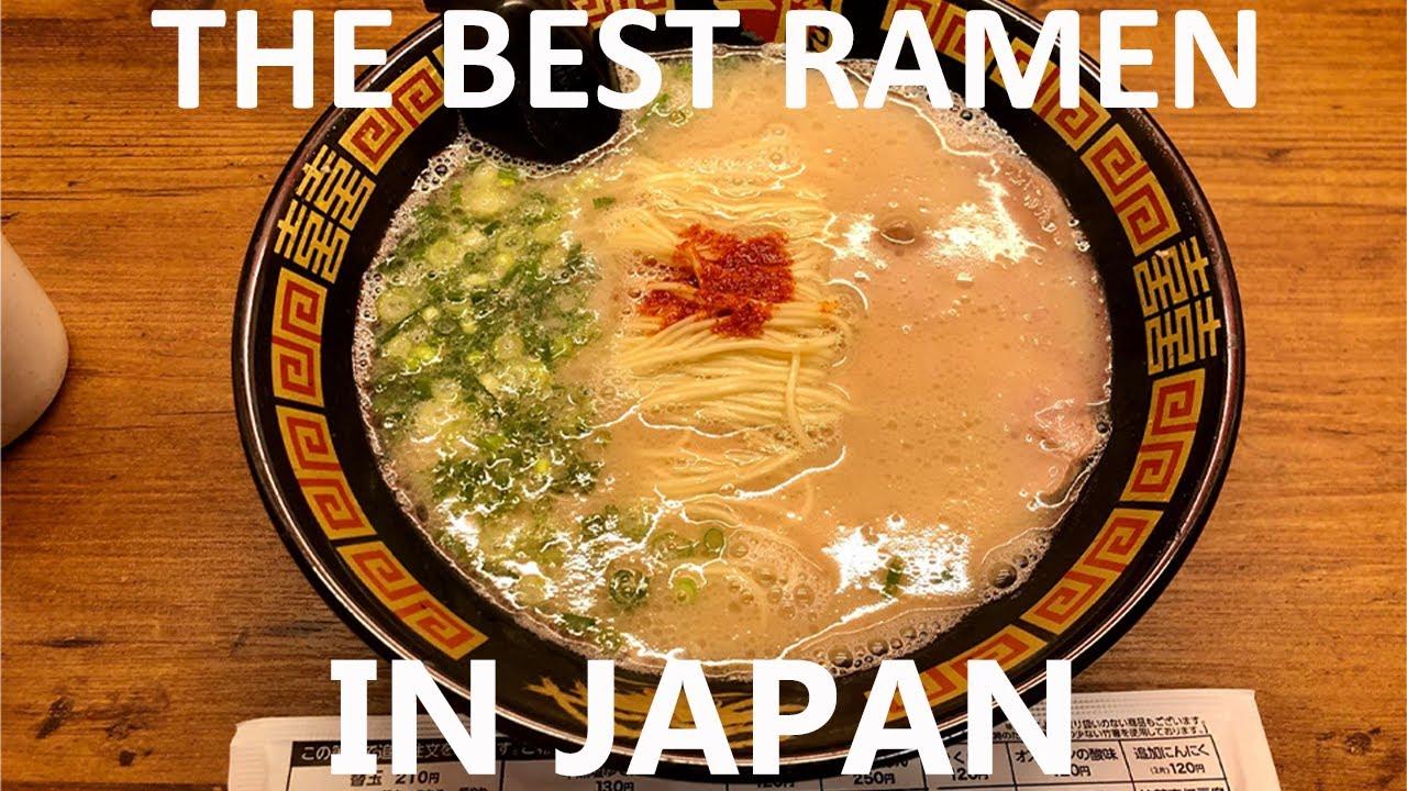 The Best Ramen in Japan