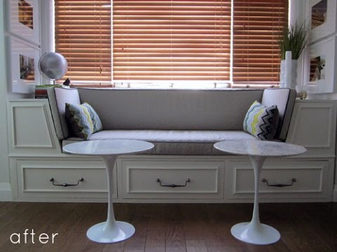 Build Your own Window Seat - YouTube
