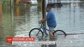 Тропічний шторм затопив дороги Техасу та зруйнував кілька будинків