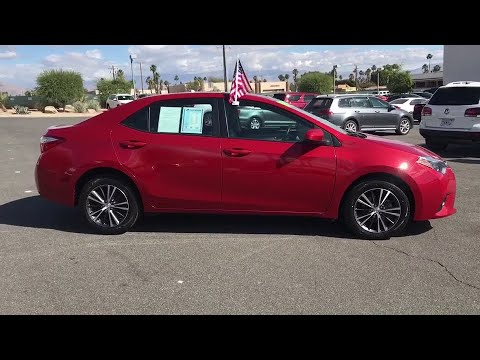 2016 Toyota Corolla Palm Springs, Palm Desert, Cathedral City, Coachella Valley, Indio, CA 464813