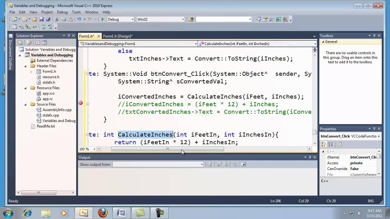 Visual basic express 2010 tutorial 34 programming the shooter.