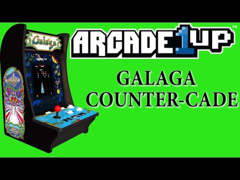 Arcade1Up Galaga Counter-cade - Retro Reviews from sinistermoon