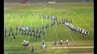 Royal H.S. Marching Band @ 1985 Azusa Field Tournament