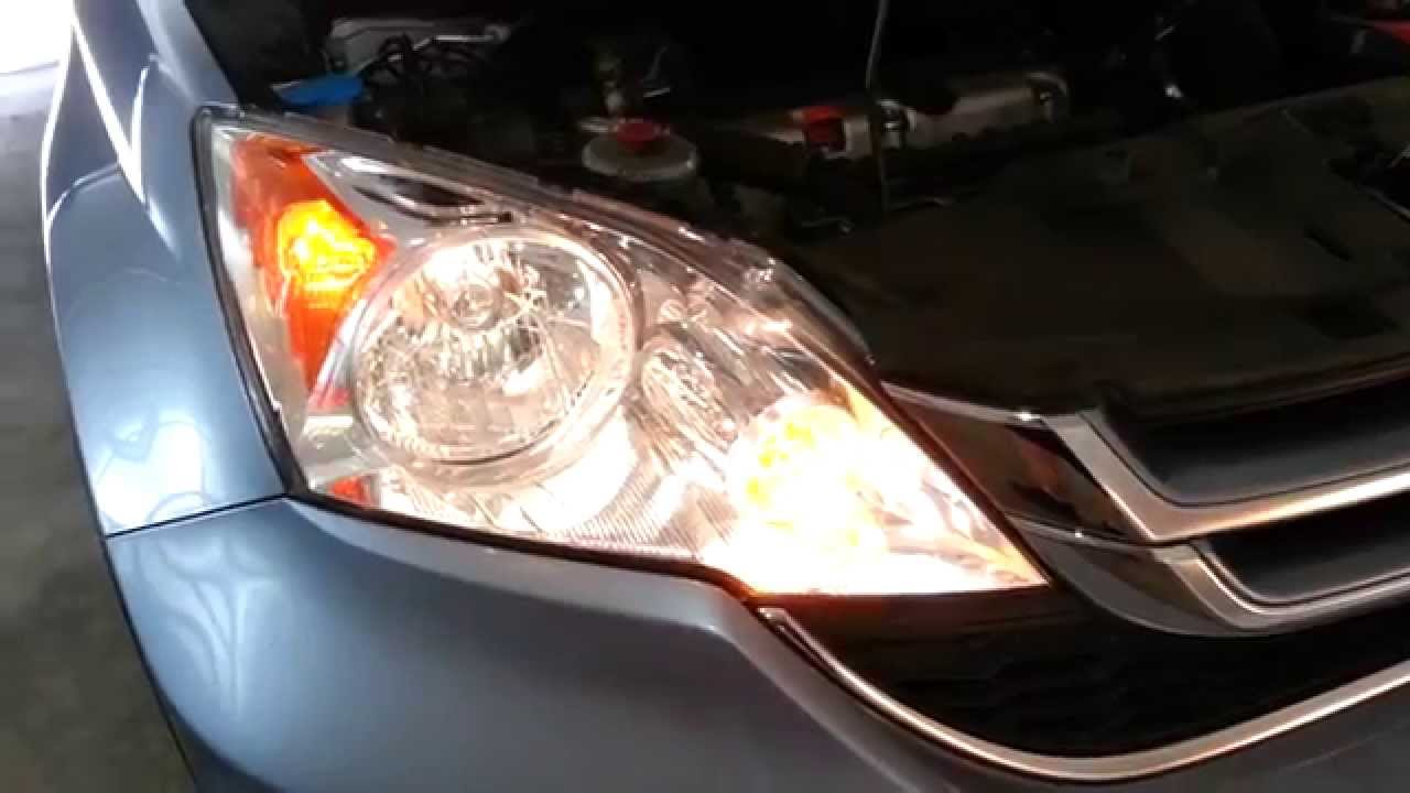 2011 Honda Cr V Testing New Headlight Bulbs Low High