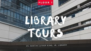 MLK Library Tours - Floor 1 - SECRET ROTATING BOOKCASE + MORE
