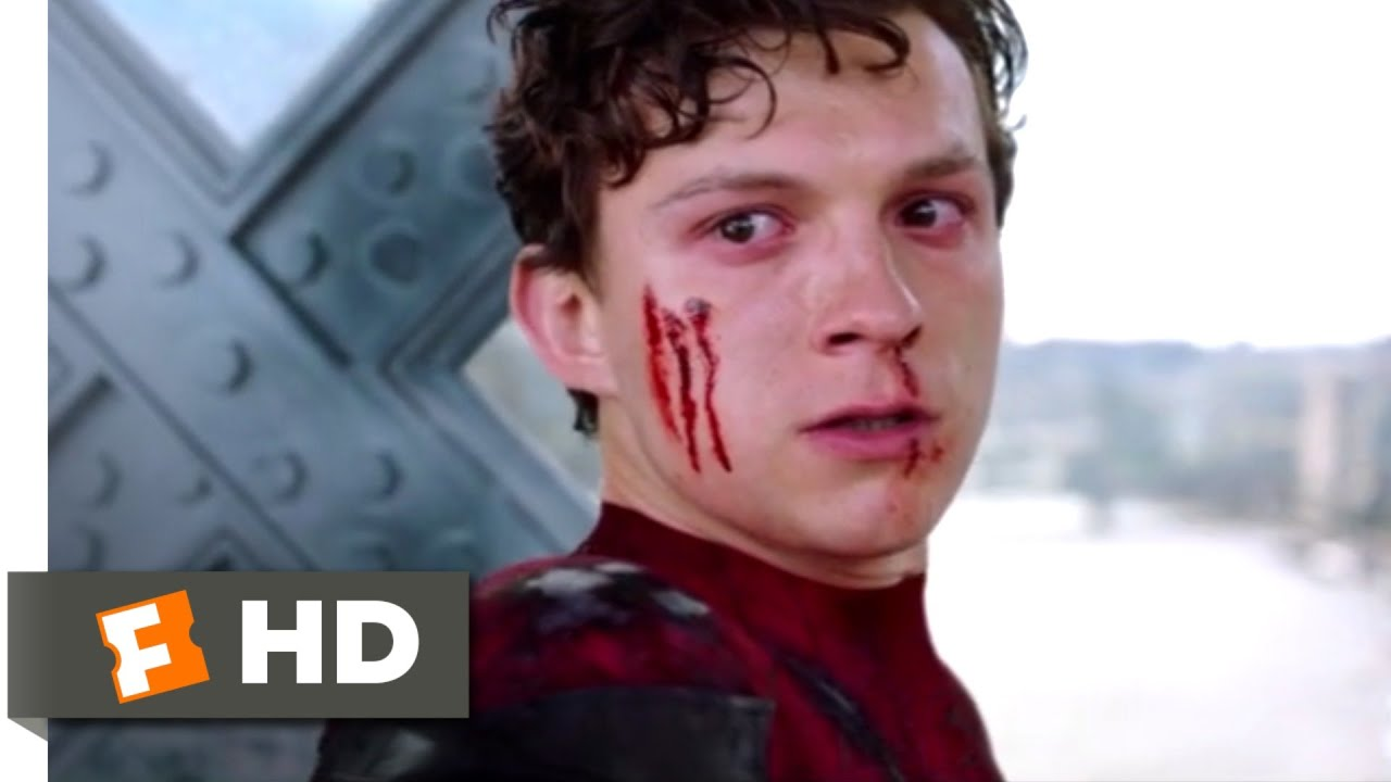 Download Spider-Man: Far From Home (2019) - Spider-Man vs. Mysterio Scene (9/10) | Movieclips