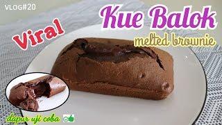 Resep Kue Balok Lumer | Kue Balok Ngehits Lembut dan Enak | Melted Brownie