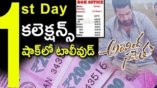 Aravinda Sametha Movie World Wide First Day Box Office Collections | Aravinda Sametha Collections
