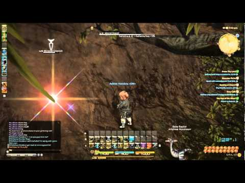 Let's Play FFXIV A Realm Reborn [020] Miner Quests