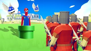 They Put SUPER MARIO In TABS And It Was A STRANGE BATTLE In Totally Accurate Battle Simulator