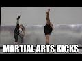 MARTIAL ARTS KICKING DRILLS (Feat. Brian Le & Gemma Nguyen)