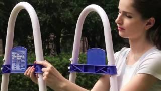 видео Лестницы и поручни для бассейнов