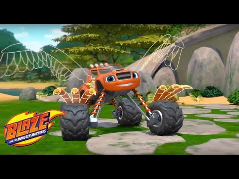 Blaze & the Monster Machines Transformer Into Super Tire - Blaze Power Tires - Interesting Games