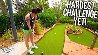 The MOST RIDICULOUS Mini Golf Challenge We Have Ever Faced!