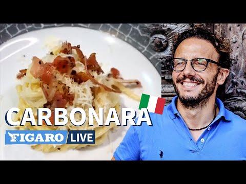 la-vraie-recette-de-spaghetti-carbonara-italienne,-par-le-chef-simone-zanoni-👨🏼🍳