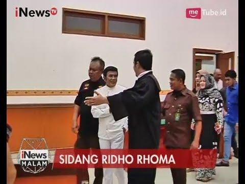 Dampingi Sidang, Rhoma Irama Bersyukur Anaknya Ditangkap Agar Bertaubat - iNews Malam 11/07
