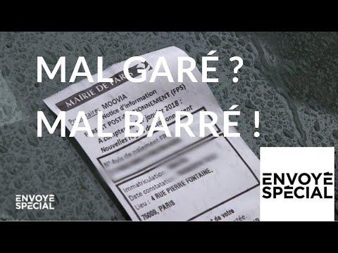 Envoyé spécial. Mal garé ? Mal barré ! - 11 octobre 2018 (France 2)