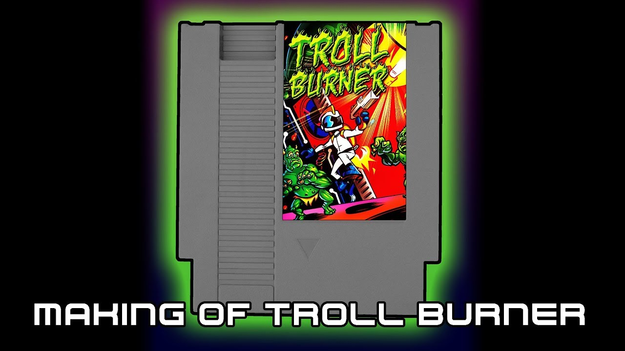 Troll Burner - The Making of, Using NESmaker