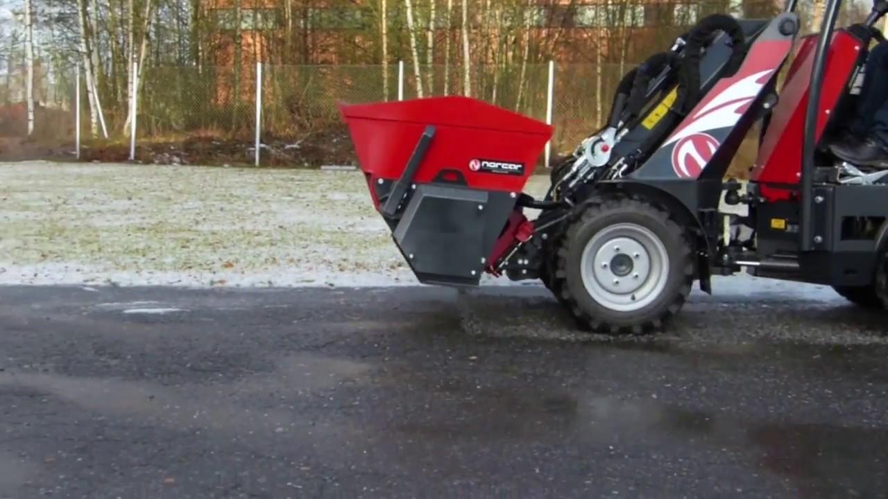 Norcar sand spreader bucket