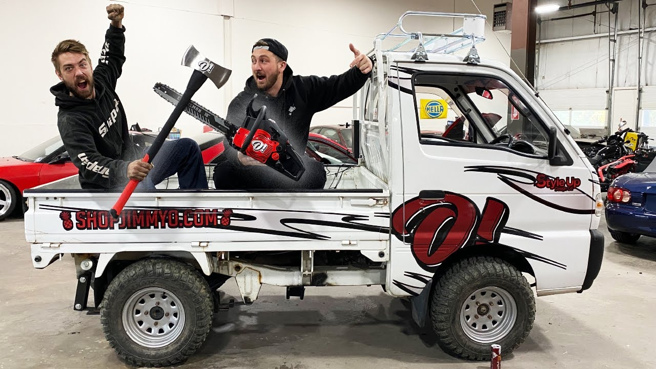 OFF ROAD Mini Truck becomes BATTLE READY.