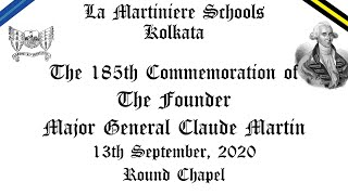The 185th Commemoration Service of The Founder Major General Claude Martin