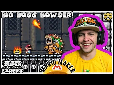 Just Like They Drew It Up! 100 Man Super Expert Mario Maker