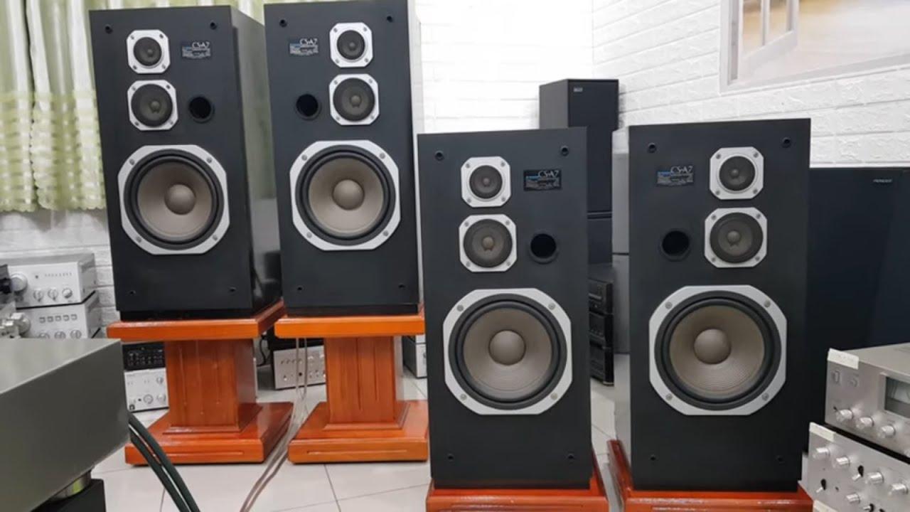 Loa PIONEER CS - A7, 3 đường tiếng, bass 25, giá 6,2 triệu