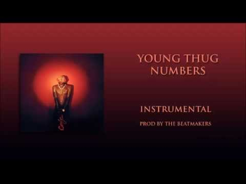 Young thug numbers OFFICIAL INSTRUMENTAL(prod by the beatmakers)
