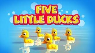 Five Little Ducks Nursery Rhyme for Children
