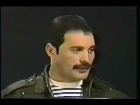 Freddie Mercury About Meeting Michael Jackson (RARE)