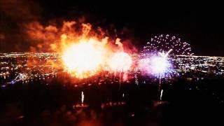 Feuerwerk FULL HD Fireworks [Rayel & Bergheau Version] gefilmt filmed mit einer Drohne with a Drone
