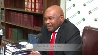 Prof Makau Mutua Interview by Judicial Service Commission Part 1