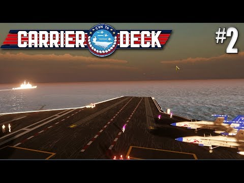 Carrier Deck #2 Hold The Line In The South Atlantic