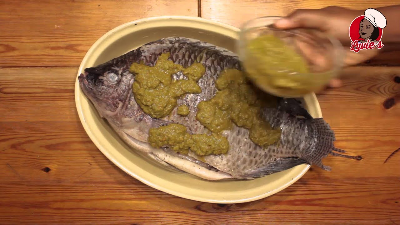 Tilapia braise au four african food cuisine africaine for Cuisine africaine