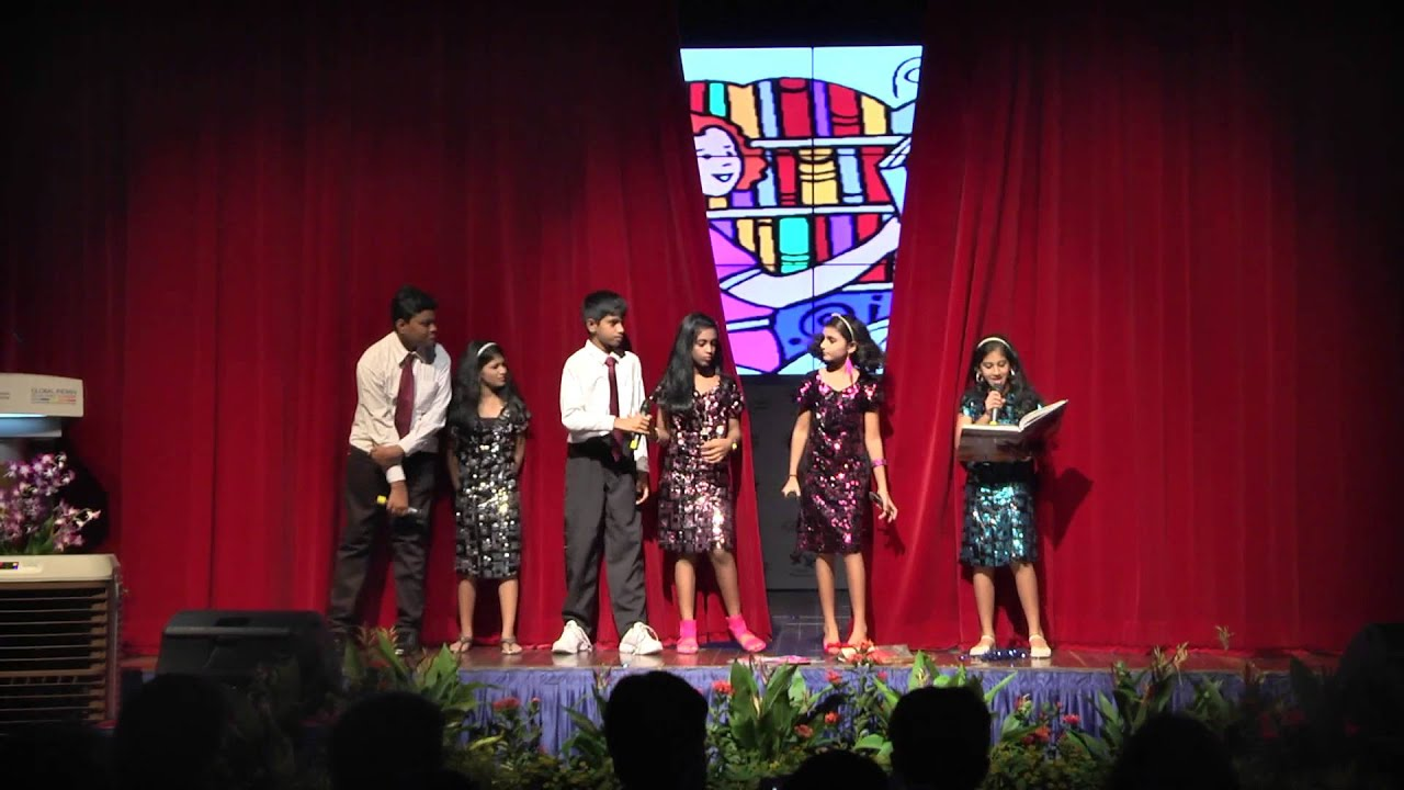 GIIS Queenstown KG and Primary Annual Day 2014