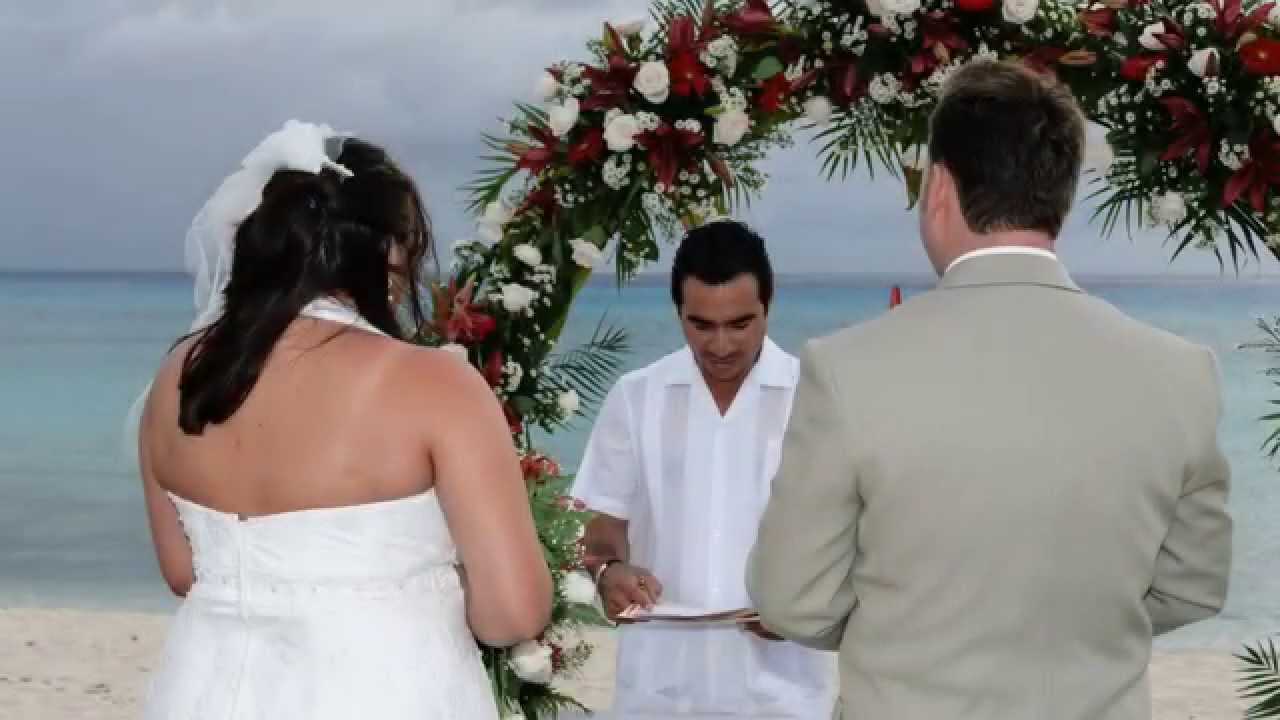 Small Beach Ceremony