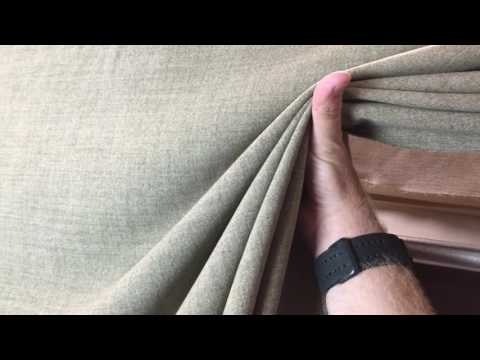 Heathered Sage Green Tan Light Upholstery Drapery Fabric By The Yard 54 Inch