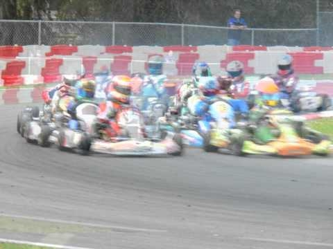 Go Kart Racing at Ocala Speedway in March 2010