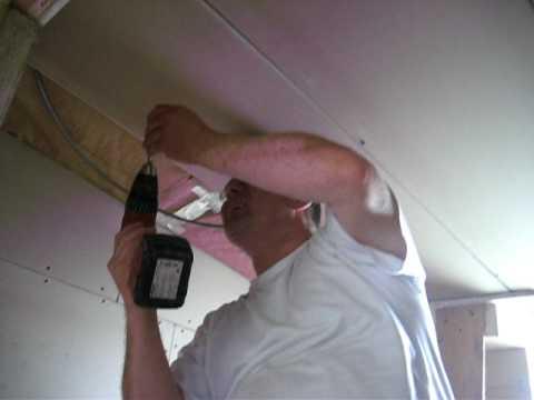 Populair 1...Badkamer plafond dubbel isoleren..AVI - YouTube MD66