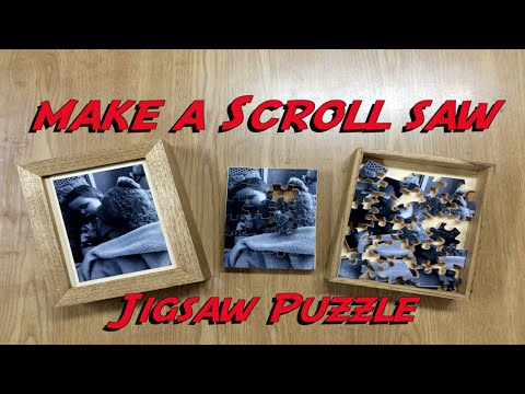 Scroll Saw Jigsaw Puzzle