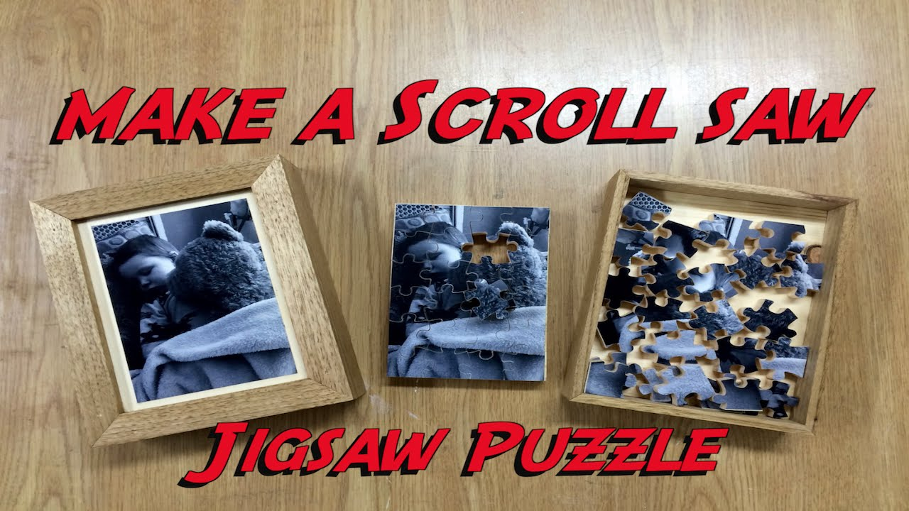 Scroll Saw Jigsaw Puzzle - YouTube