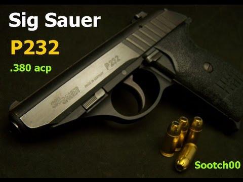 sig p232 380acp pistol youtube