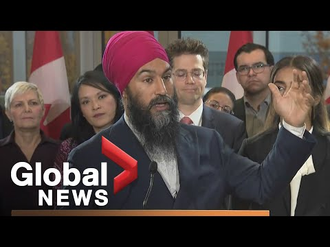Canada Election: Singh delivers remarks in Vancouver, B.C.