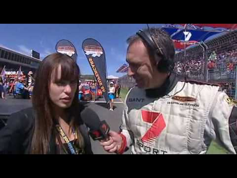 Jessica McNamee V8 Supercars Sunday March 22