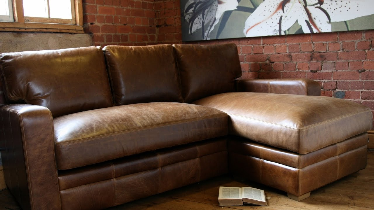 Leather Sectional Sofas With Recliners And Chaise - YouTube