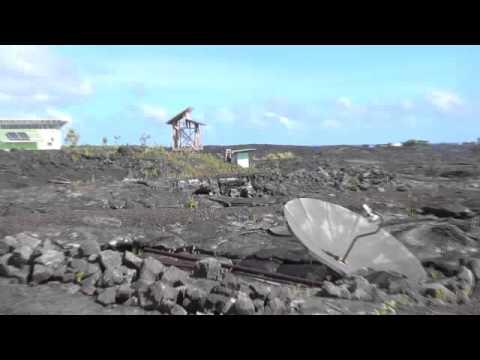 Pahoa, Big Island Hawaii-Recent lava flow