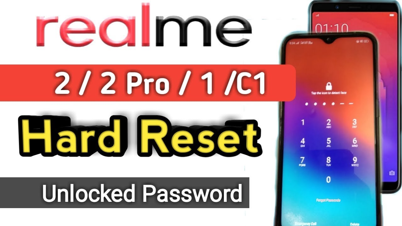 How To Hard Reset Realme 2 Pro | Hard Reset realme 2 | Reset Realme 1 |  Forgot Pattern, Password