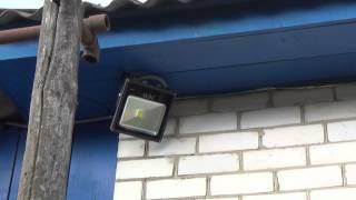 LED прожектор 30W обзор - тест(, 2014-06-21T17:06:52.000Z)