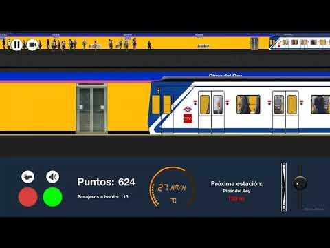 Capitán Civias. Metro De Madrid 2d Sim. Serie 5000 Por La Linea 8